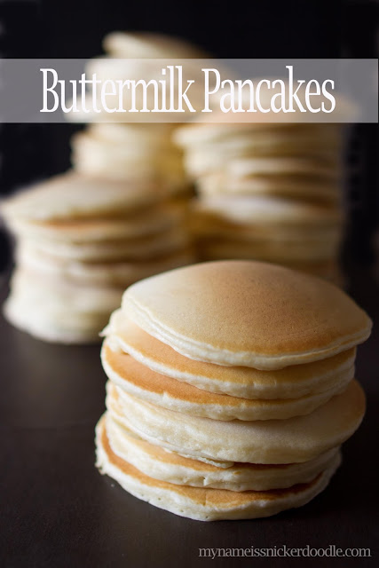 The best homemade Buttermilk Pancakes!