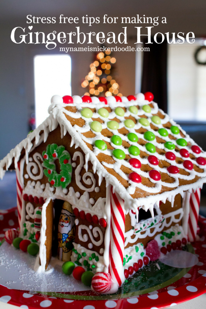 How To Make A Christmas Gingerbread House For The Holidays