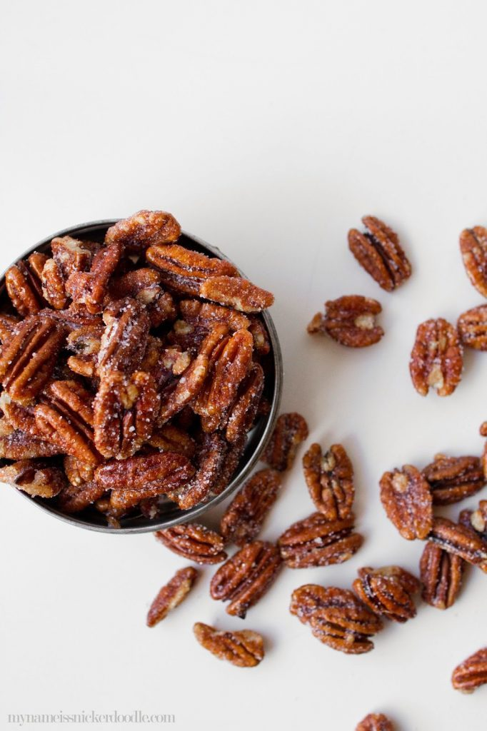 Sweet Spicy Pecans Recipe