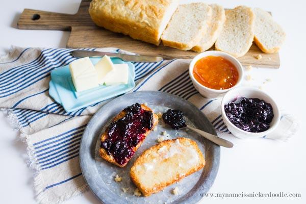 A perfect recipe for no knead bread!