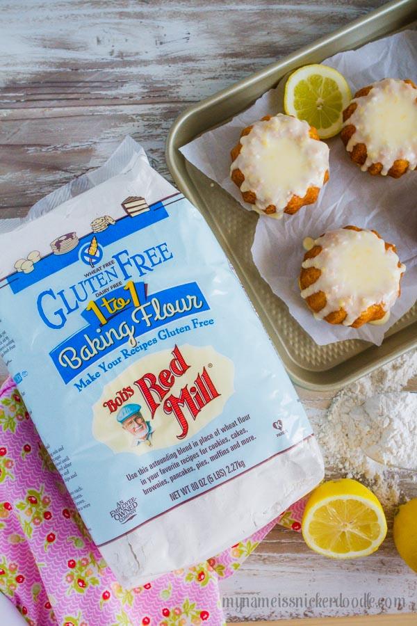 Mini Lemon Bunt Cakes