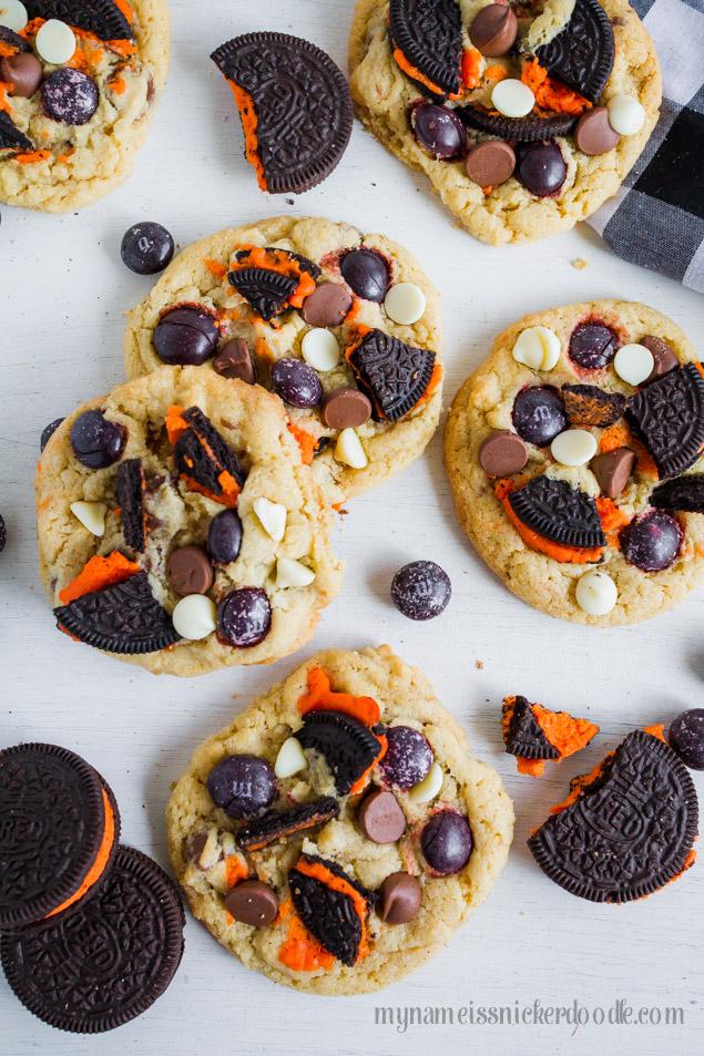 Halloween Cookies and Cream Cookies Recipe