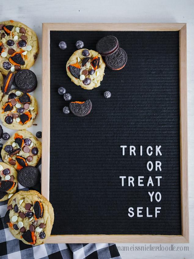 Trick or Treat Yo Self Halloween Letterboard Sign