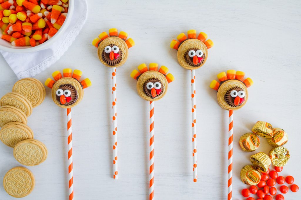 Thanksgiving Turkey Pops