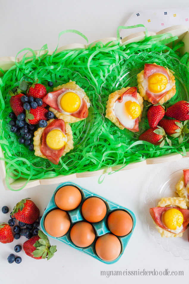 Easter Egg Brunch Nests
