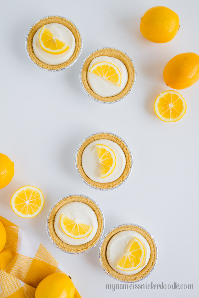 Mini Lemon Cream Pie Dessert