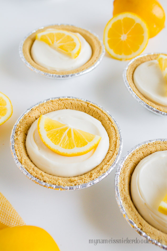 Mini Lemon Cream Pies Recipe