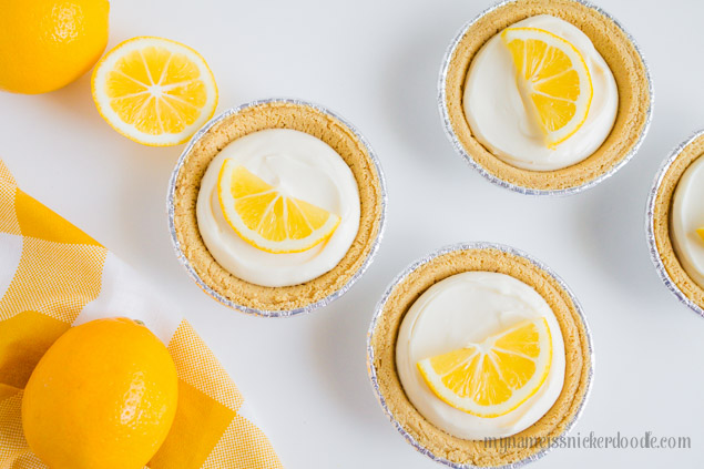 Mini Lemon Cream Pie