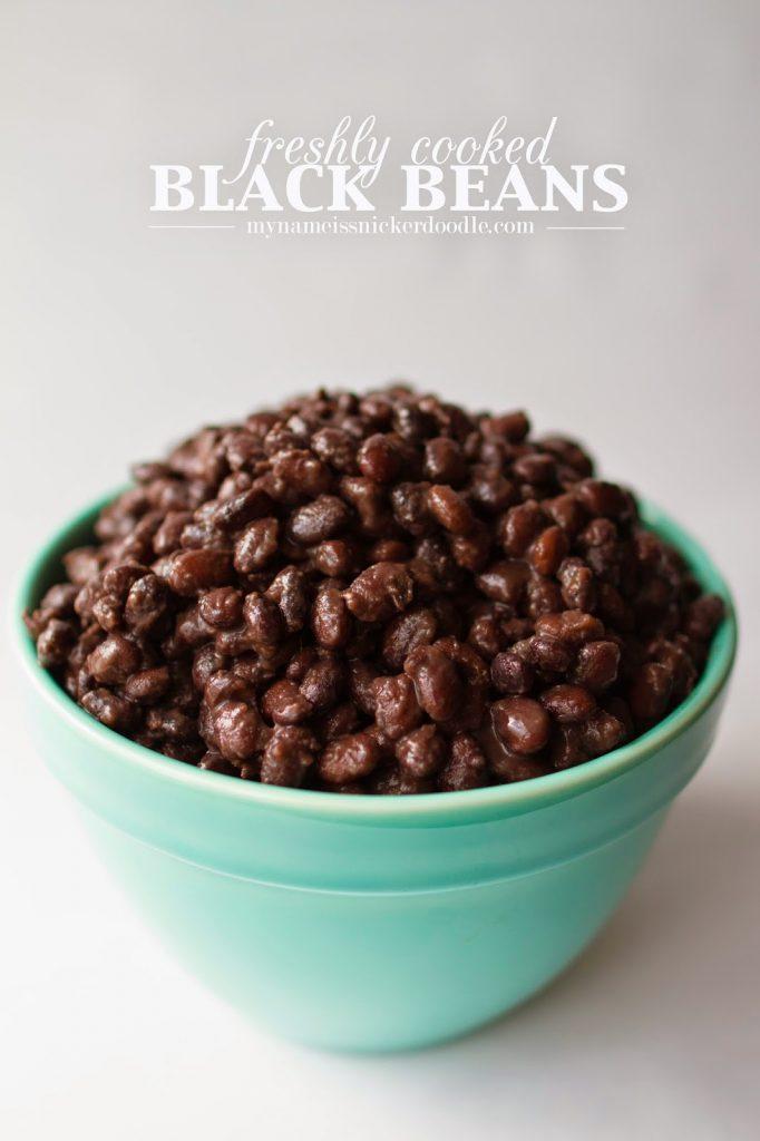 Homemade Black Beans Recipe  |  Homestyle  |  Easy  |  Fresh  |  Cinco de Mayo