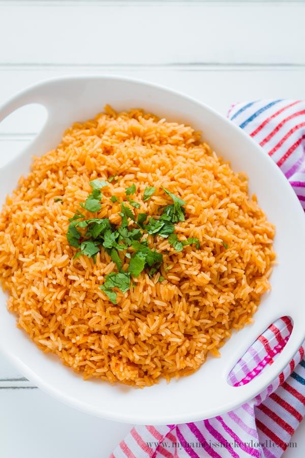 Super Easy Mexican Rice Recipe  |  Cinco de Mayo