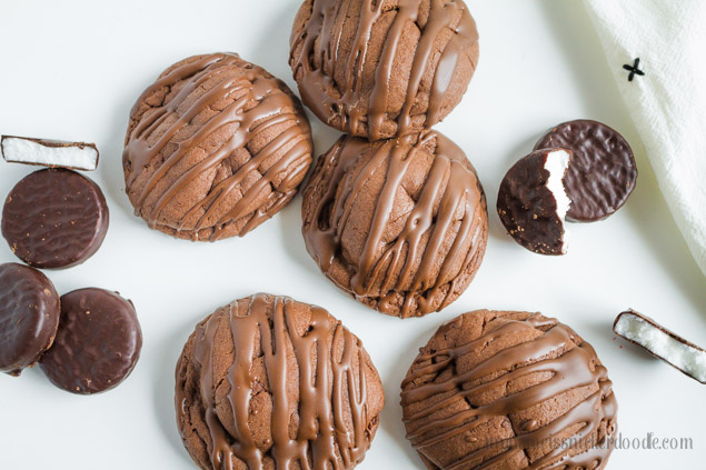 Recipe Chocolate Peppermint Patty Cookies