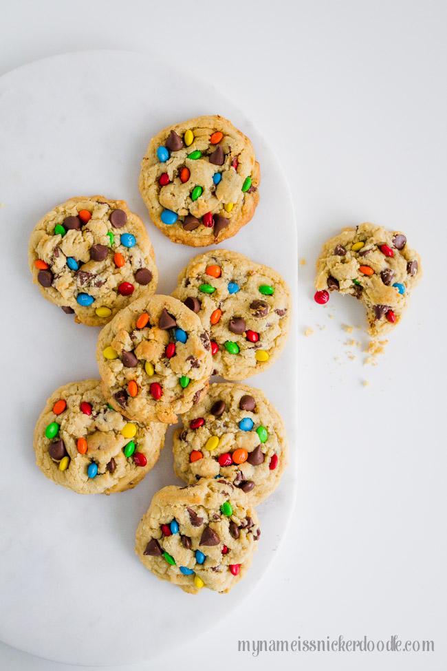 Chocolate Chip M&M's Cookies Recipe