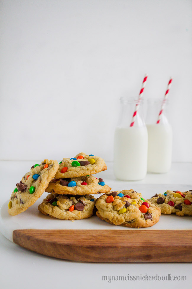 M&M Chocolate Chip Cookies | Recipe | From Scratch
