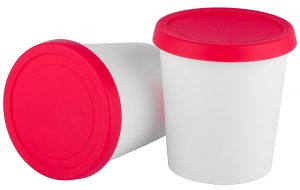 Silicone Ice Cream Containers
