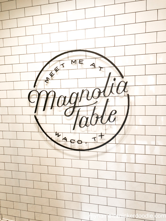 Magnolia Table Restaurant in Waco Texas