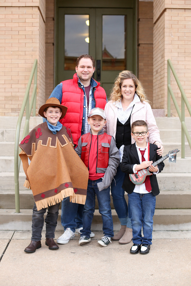Back To The Future Family Picture Costumes
