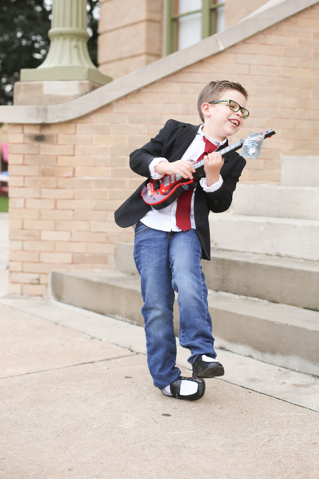 Marty McFly Costume From The Under The Sea Dance Back To The Future