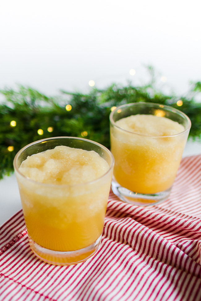 Christmas Punch is slushy, sweet and sparkly an easy holiday recipe.