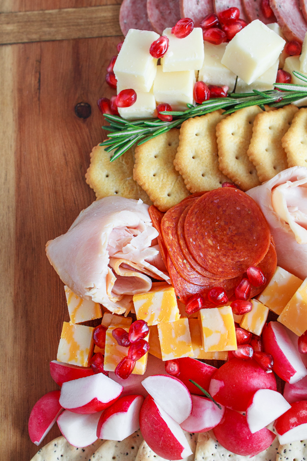 The Ultimate Holiday Appetizer!  A Christmas Tree Cheese and Cracker Tray would be great for any holiday party.