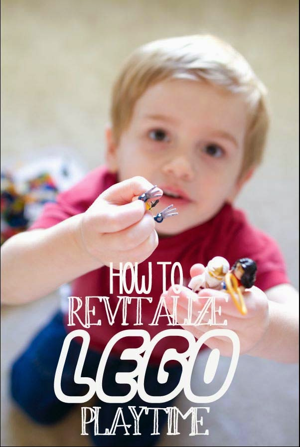 How to revitalize playing with LEGO to keep little kids busy with indoor playing.