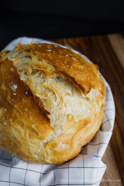 Artisan Crusty Bread Recipe.