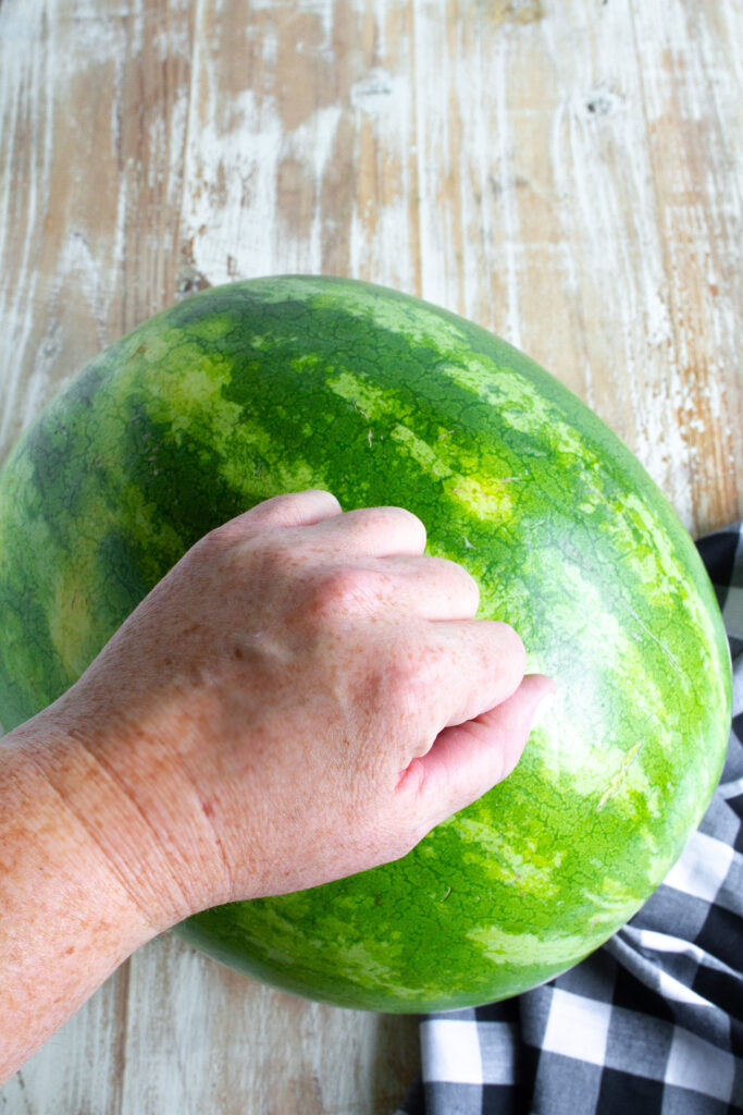 How To Pick The Best Watermelon by knocking on it.