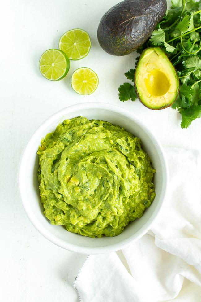 The easiest guacamole recipe.