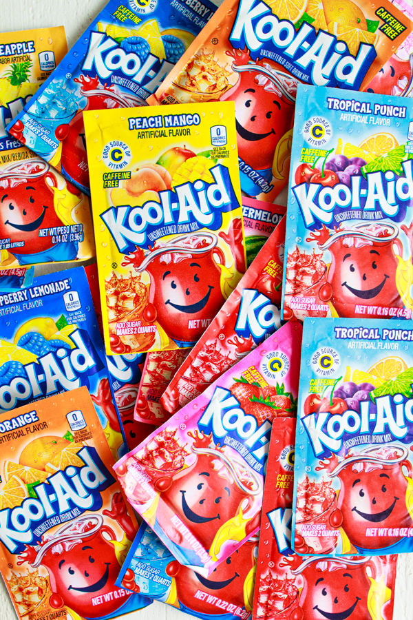 Packets of Kool-aid