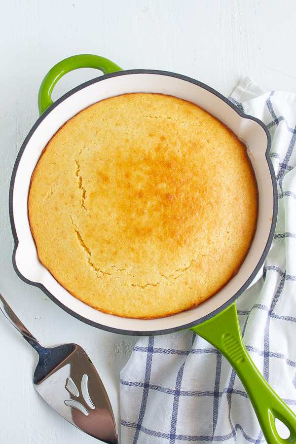 The easiest corn bread recipe