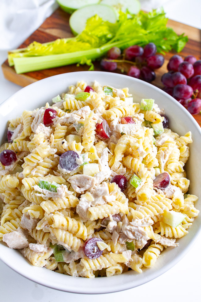 Chicken Apple Pasta Salad