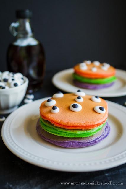 Trick or Treat Pancakes